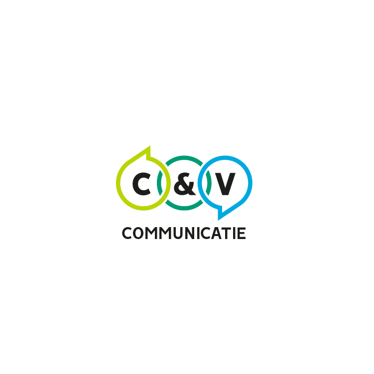 Logo C&V communicatie